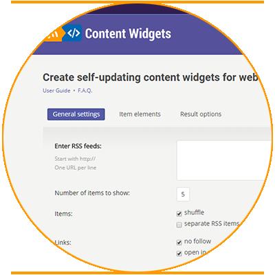 content-widgets